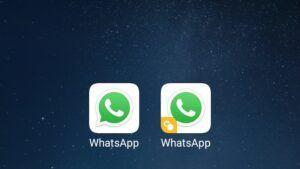 Duas contas de WhatsApp no mesmo celular