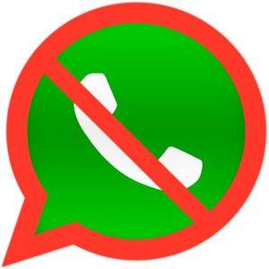 Contato do WhatsApp bloqueado